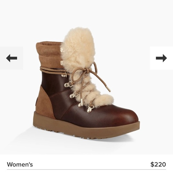 f04f0bc57ec UGG Shoes Viki Waterproof Ugg Boots Nwt Color BrownCream
